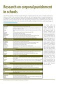 Prohibiting all corporal punishment in schools: Global Report 2011 - Page 7