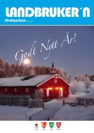 Landbrukern 1-2013.pdf - Ringsaker kommune