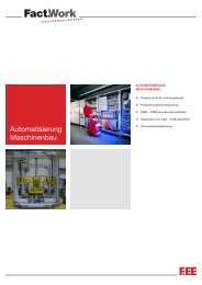 Automatisierung Maschinenbau - pro LE Software GmbH