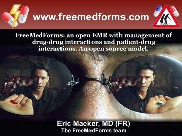 Drug interactions - FreeMedForms