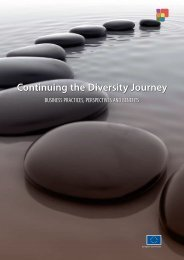 Continuing the Diversity Journey - European Commission - Europa