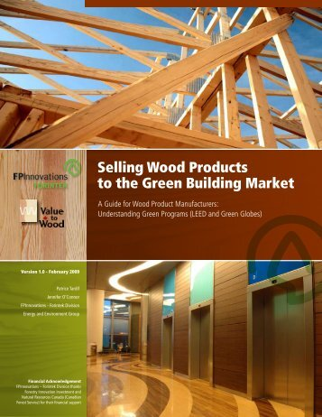 Selling Wood Products to the Green Building Market - Solutions for ...