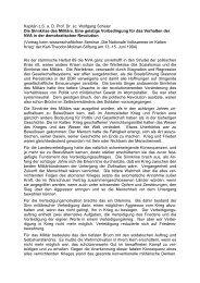 Die Sinnkrise des Militärs. Eine geistige ... - AGGI-INFO.DE