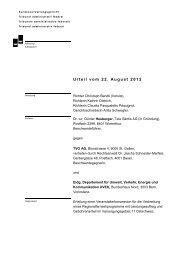 Urteil vom 22. August 2012 - Bundesverwaltungsgericht