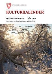 Kulturkalender f.hemmede VÅR 2013 - PDF - Ringsaker kommune