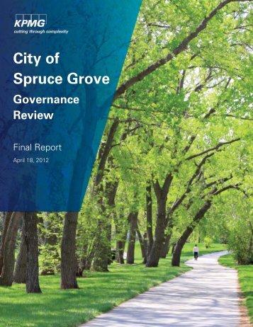 City of Spruce Grove - Agenda