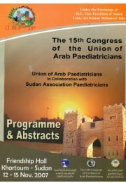conference programme and abstracts book - Sudanjp.org