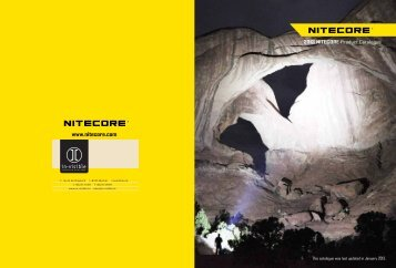 Nitecore Product Catalogue PDF - in-visible.lu