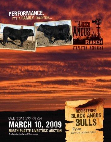 2009 Yearling Black Angus Bulls Catalog (.pdf)