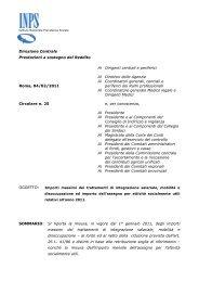 Page 1 Istituto Nazionale Previdenza Sociale Direzione Centrale ...