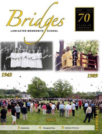 Summer 2012 - Lancaster Mennonite School