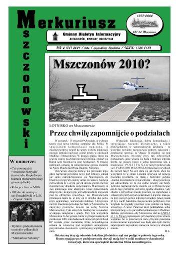 Merkuriusz - Mszczonów, Urząd Miasta i Gminy