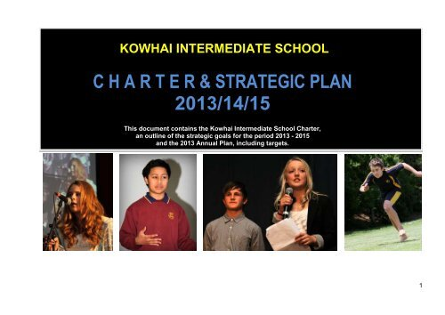 to view the Charter - Kowhai Intermediate School