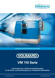 VOUMARD VM 110 Serie - Peter Wolters AG
