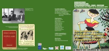 programme - Archives départementales du Val-de-Marne - Conseil ...