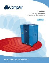 CompAir L Series L15 -L22 20 -30 HP - Compressed Air