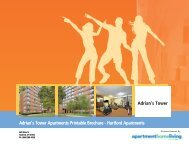 Adrian's Tower Apartments Printable Brochure - Apartments For Rent