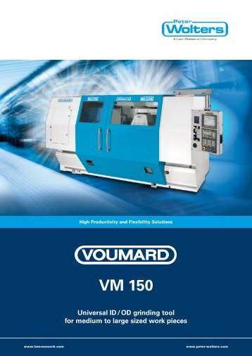 voumard vm 150 - Peter Wolters AG