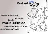 Dergimizi İndirmek İçin Tıklayın - Pardus-eDergi.org