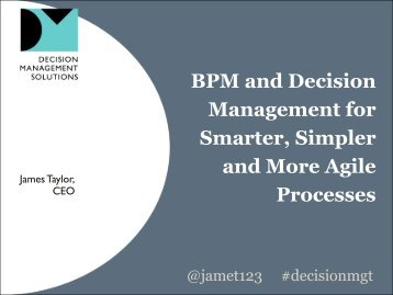 decisions - IBM BPM in Action