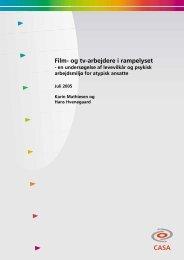 Film- og tv-arbejdere i rampelyset (5mb)
