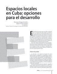 Espacios locales en Cuba: opciones para el desarrollo - Temas