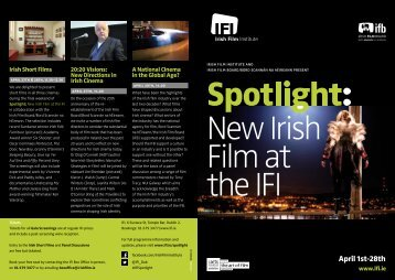 Download the full programme - Irish Film Institute