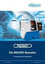Die MACRO Baureihe Hochproduktives ... - Peter Wolters AG