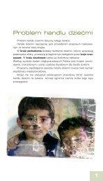 Problem handlu dziećmi