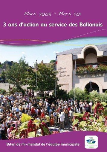 Bilan de mi-mandat (pdf - 1,54 Mo) - Ballan-Miré
