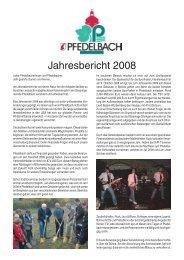 Jahresbericht 2008 Einzelseiten.pmd - Gemeinde Pfedelbach