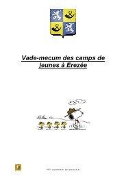camps de jeunes à Erezée j 2012 - PSSP - Marche-en-Famenne