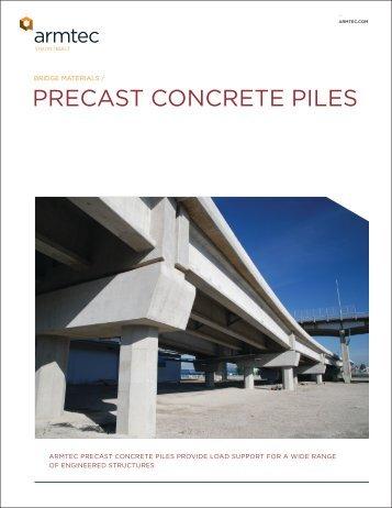 Precast Concrete Piles Brochure - Armtec