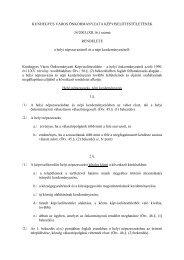 (XII.16.) számú RENDELETE a helyi népszavazásról és an