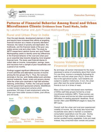 Executive Summary - Institute for Money, Technology and Financial ...