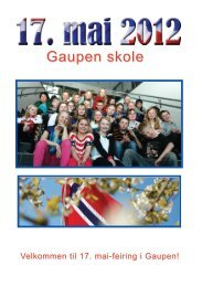 Gaupen skole - Ringsaker kommune