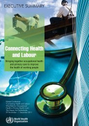 What Role for Occupational Health in Primary Health Care?