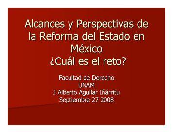 Alcances y Perspectivas de la Reforma del ... - Reposital - UNAM