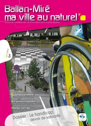 Magazine N°15 Juillet 2012 (pdf - 11,30 Mo) - Ballan-Miré