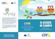 brochure campi estivi 2011 - Destinazione Europa