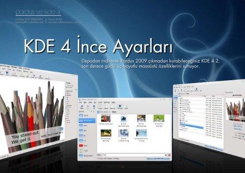 Pardus ve KDE 4 - Tilkinin Dilinden
