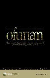 Descargar el Programa completo - Música UNAM