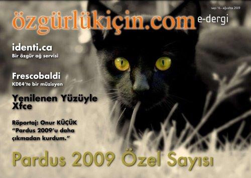 Pardus 2009 Özel Sayısı - Tilkinin Dilinden - WordPress.com