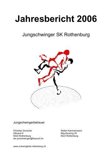 Jahresbericht 2006 - Schwingklub Rothenburg