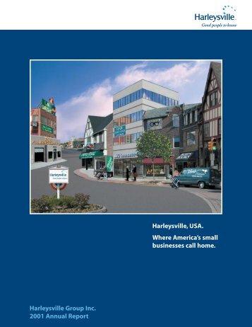 *Editorial/Cover Mechanicals 01 - Harleysville Insurance