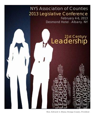 FLYER Legislative Conf 2013 - New York State Association of ...