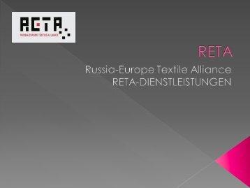 Presentation RETA-Services - VTex