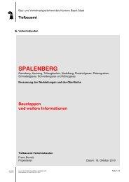 spalenberg - Tiefbauamt - Basel-Stadt
