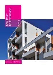 Document de référence 2011 - Kaufman & Broad