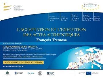 Présentation Me François Tremosa - français
